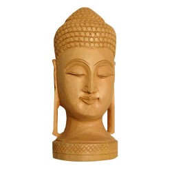 Wooden Lord Buddha Idols-9Inches